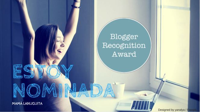 Blogger Recognition Award tittle