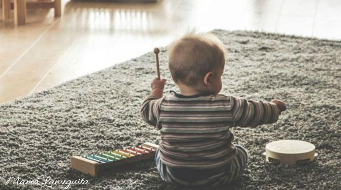 beneficios musica bebes niños musicoterapia embarazo musica estimulacion temprana instrumentos musicales bebes
