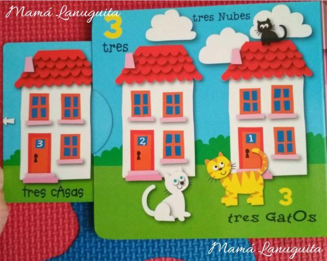juega y descubre los numeros jordi busquets susaeta libros un año lectura niños libro interactivo tres