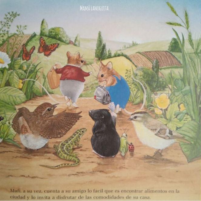 viva la vida tranquila pestalozzi verlag lectura libro infantil 0 a 4 años cartone ratones cuento2