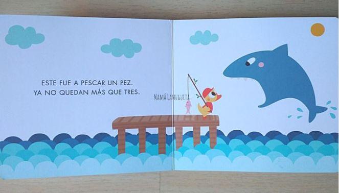 5 patitos cinco patitos reseña libro margarita del mazo cecilia moreno libros infantiles lectura 1 a 3 años libro para contar aprender numeros 2