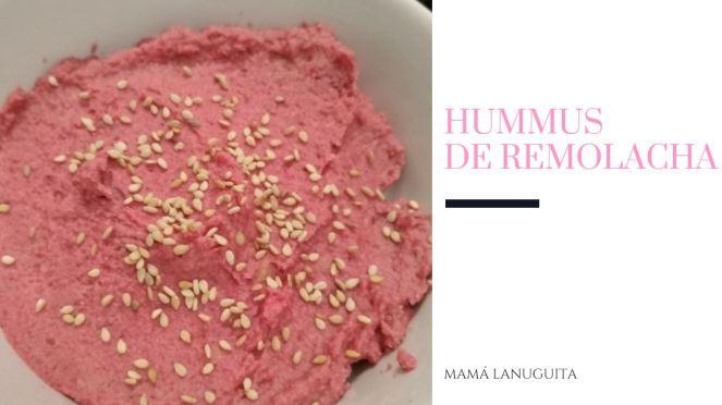 hummus de remolacha hummus de garbanzos
