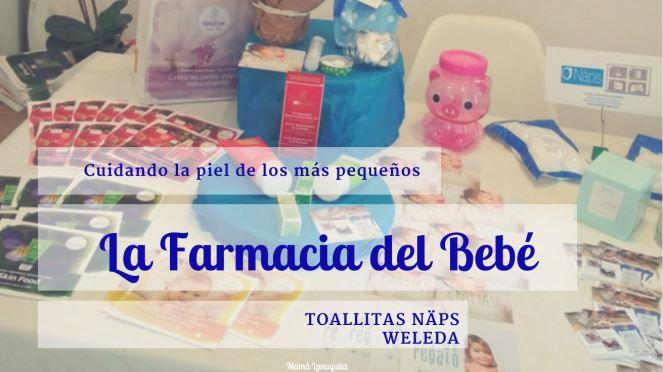la farmacia del bebe toallitas näps weleda cuidando la piel de los más pequeños