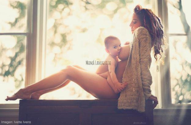 lactancia materna en público 2 mamá lanuguita